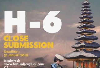 Festival Proyeksi 2018 Open Submission